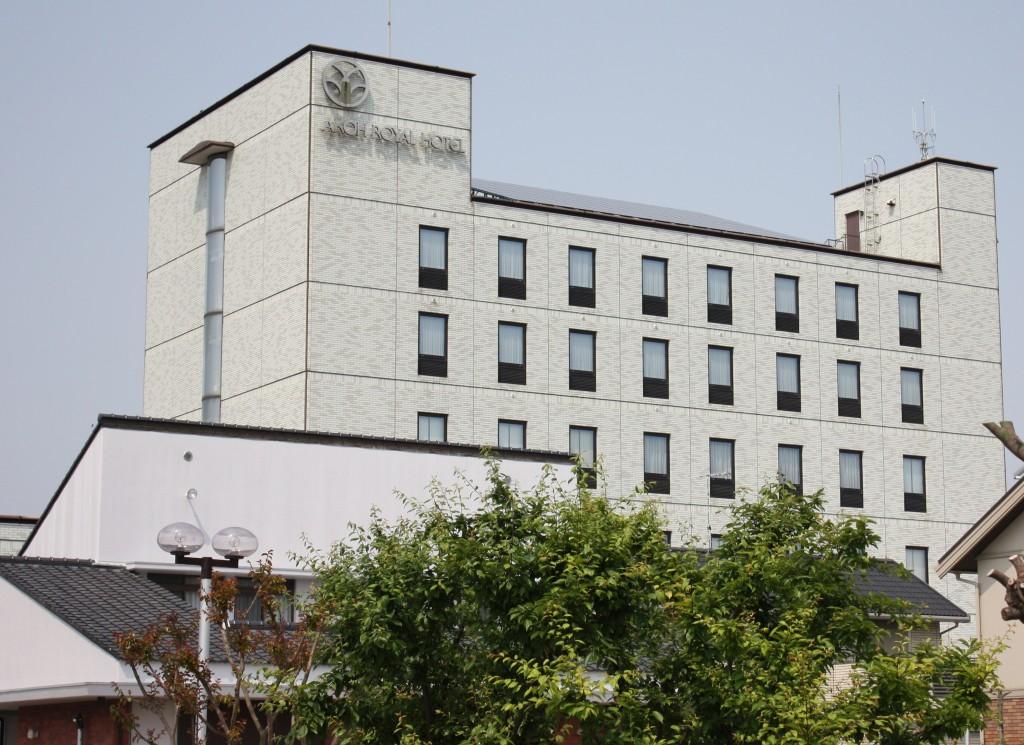 50%の省エネを達成した赤穂ロイヤルホテル(写真:高橋真樹)
