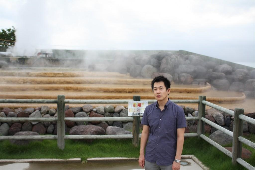 佐々木裕さん(小浜温泉エネルギー事務局長)