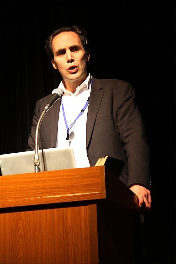世界未来協議会 気候エネルギーディレクターのステファン・シューリグさん