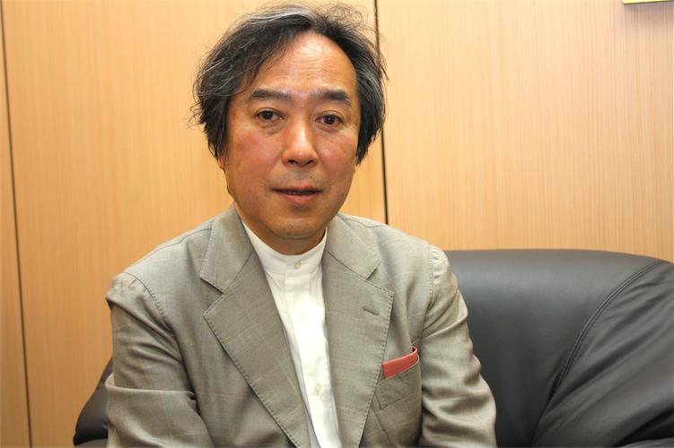 千葉商科大学の伊藤宏一さん(写真:高橋真樹)