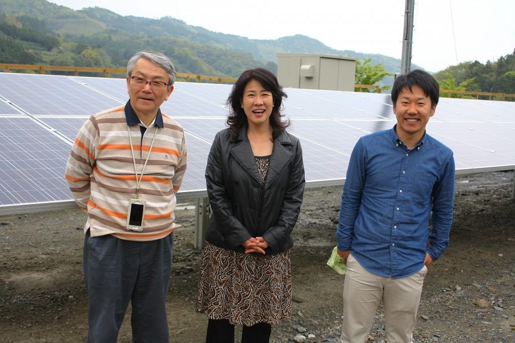 徳島地域エネルギーのメンバー(写真:高橋真樹)