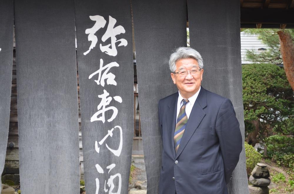 会津電力代表取締役社長 佐藤彌右衛門さん