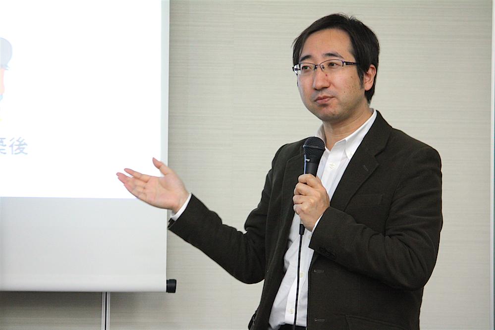 田中信一郎さん(長野県環境エネルギー課企画幹)