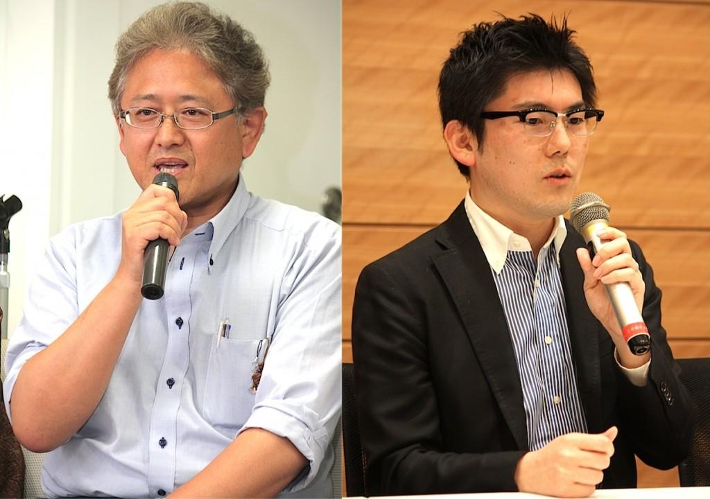 代表取締役 坂井之泰さん(左)、取締役 平尾譲二さん(右)(写真:高橋真樹)