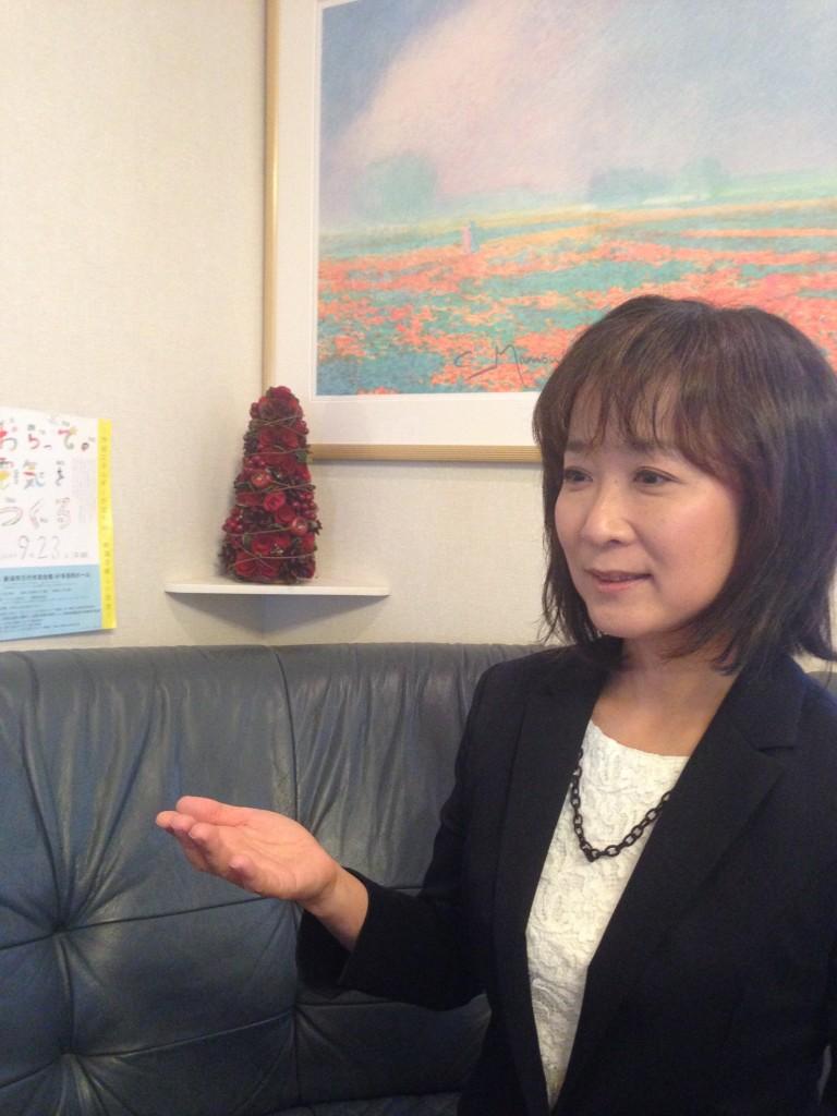 """「新潟に関心のある人が『おらって』です。""""夢を語れる大人になりたい""""とのユースの言葉を胸に歩みます」"""